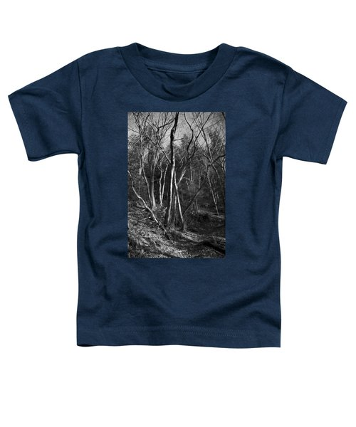 Enchanted Forest Toddler T-Shirt by Yulia Kazansky