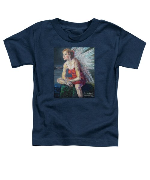 Fairy On A Stone Toddler T-Shirt