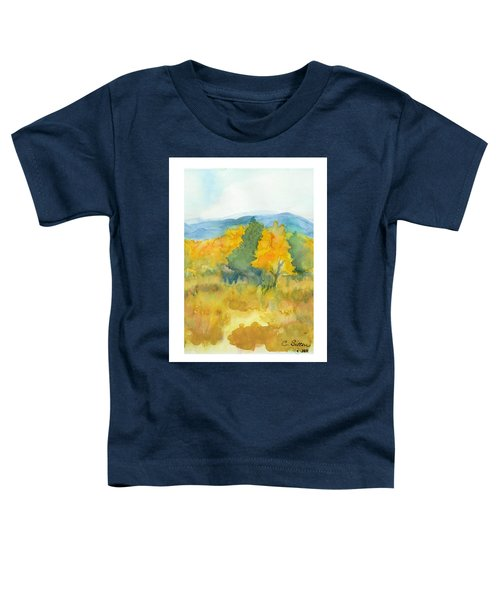 Fall Trees Toddler T-Shirt
