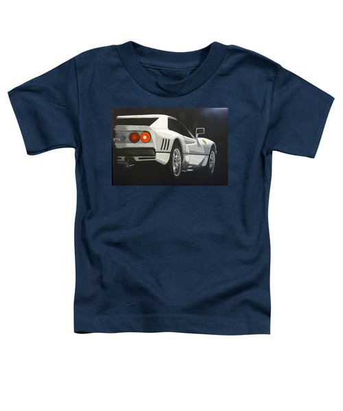 Ferrari 288 Gto Toddler T-Shirt