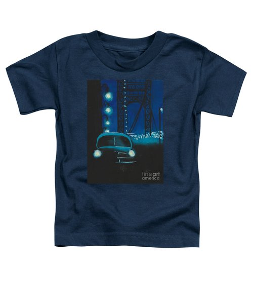 Film Noir In Blue #1 Toddler T-Shirt