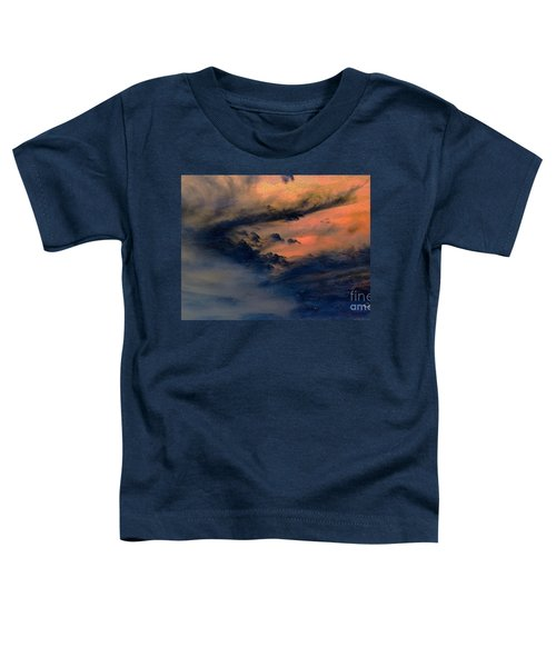 Fire In The Hills Toddler T-Shirt