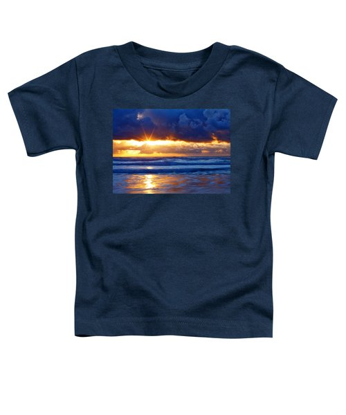 Fire On The Horizon Toddler T-Shirt