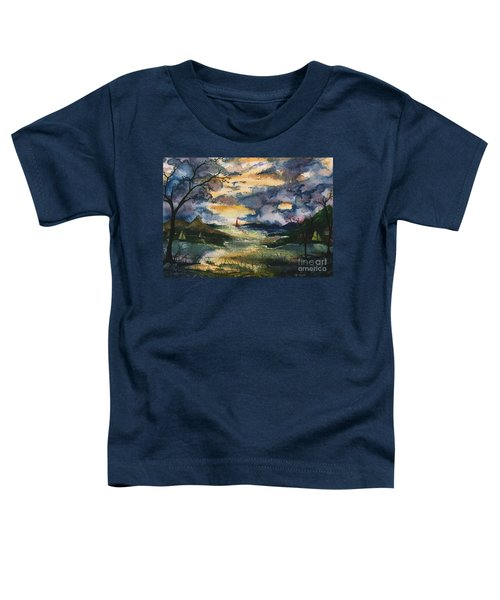 First One Out Of The Cove  Toddler T-Shirt