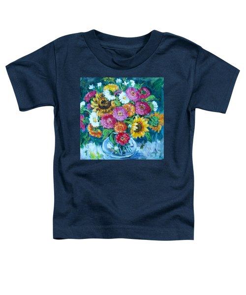 Floral Explosion No.1 Toddler T-Shirt