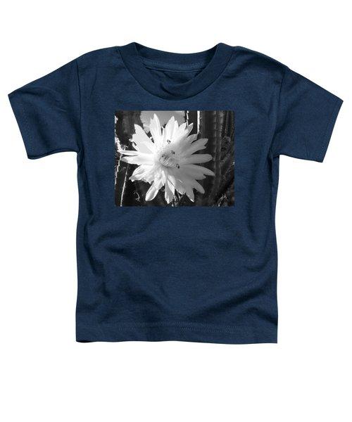 Flowering Cactus 5 Bw Toddler T-Shirt