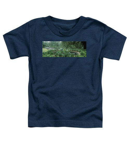 Fountain In A Garden, Middleton Place Toddler T-Shirt