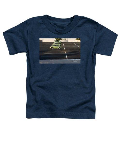 Four Green Beetles Toddler T-Shirt