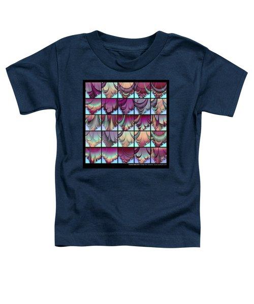 Fractal Quilt 3  Toddler T-Shirt