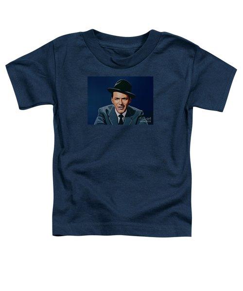 Frank Sinatra Toddler T-Shirt by Paul Meijering