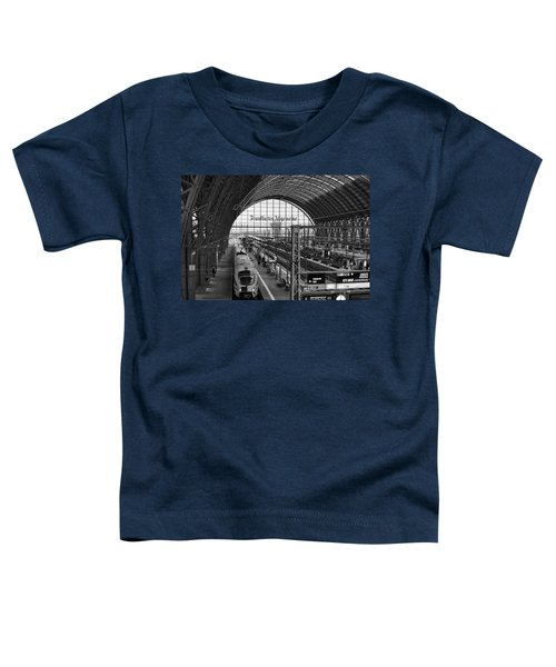 Frankfurt Bahnhof - Train Station Toddler T-Shirt