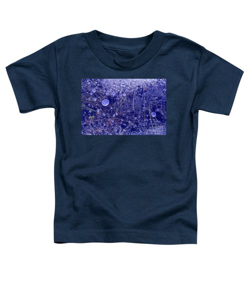 Frozen Bubbles In The Merced River Yosemite Natioinal Park Toddler T-Shirt