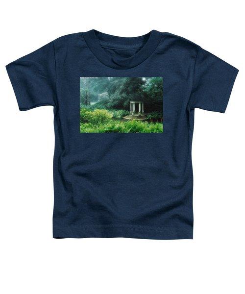 Gazebo Longwood Gardens Toddler T-Shirt