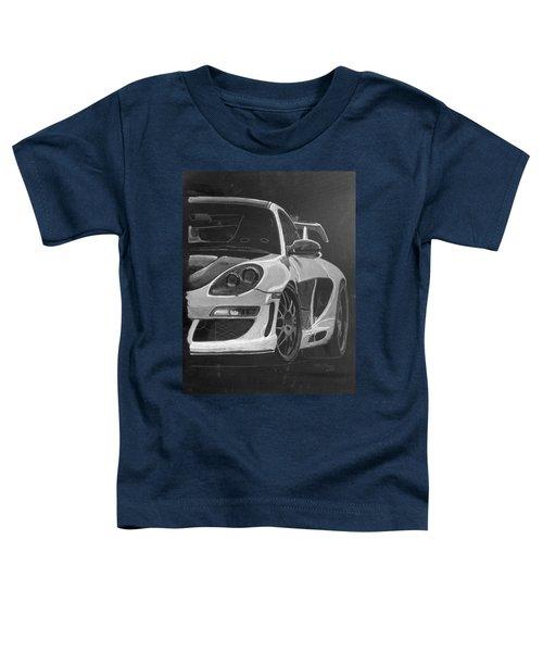 Gemballa Porsche Left Toddler T-Shirt