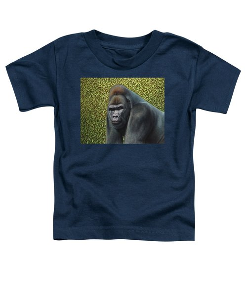Gorilla With A Hedge Toddler T-Shirt