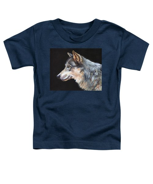 Grey Wolf Toddler T-Shirt