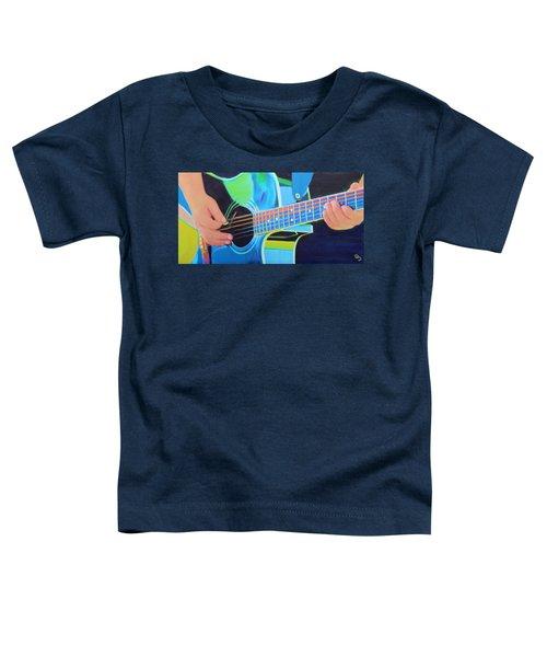 Guitar Man Toddler T-Shirt