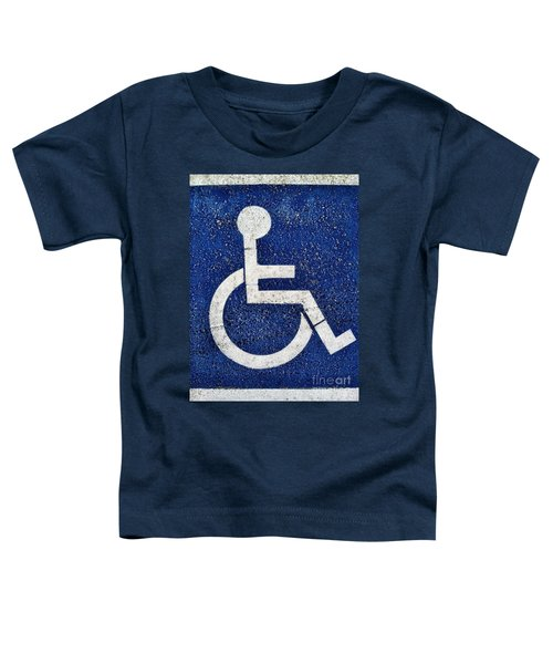 Handicapped Symbol Toddler T-Shirt