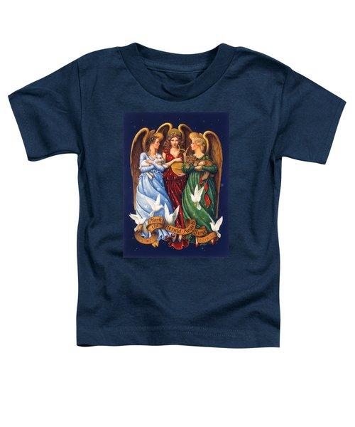 Hark The Herald Angels Sing Toddler T-Shirt