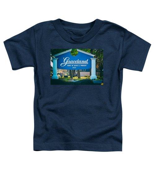 Home Of Elvis Toddler T-Shirt