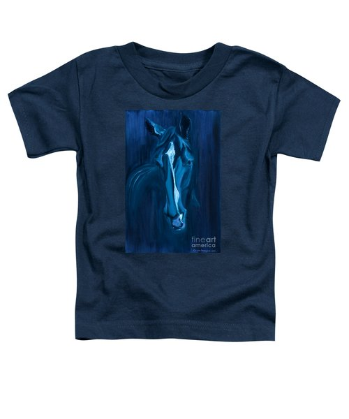 horse - Apple indigo Toddler T-Shirt