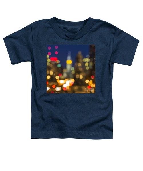 Impressionistic Philadelphia Toddler T-Shirt