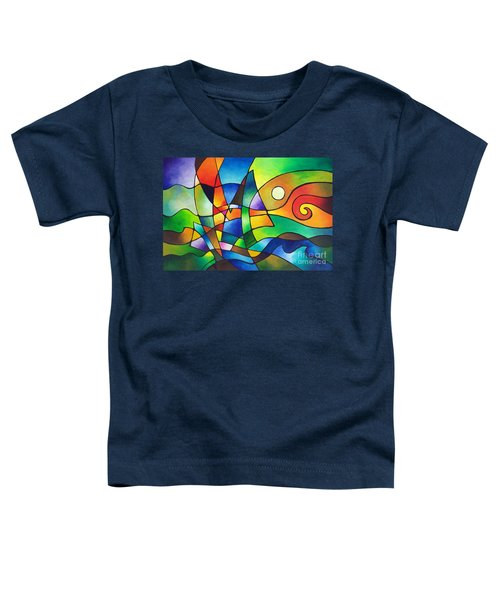 Into The Wind Toddler T-Shirt