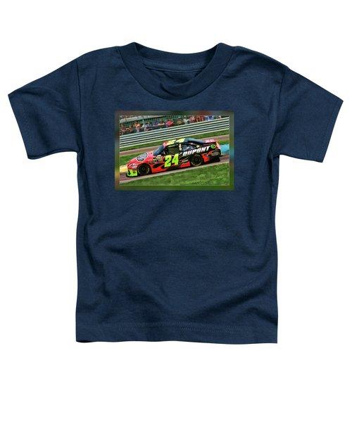 Jeff Gordon Toddler T-Shirt