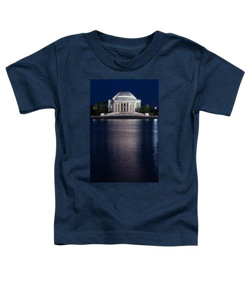 Jefferson Memorial Washington D C Toddler T-Shirt by Steve Gadomski