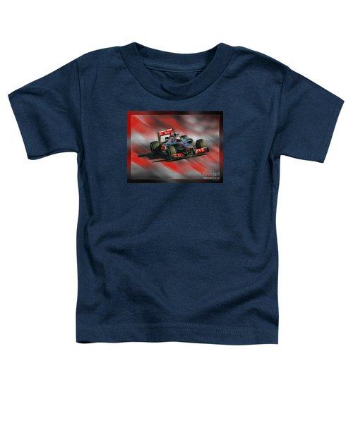 Jenson Button  Toddler T-Shirt