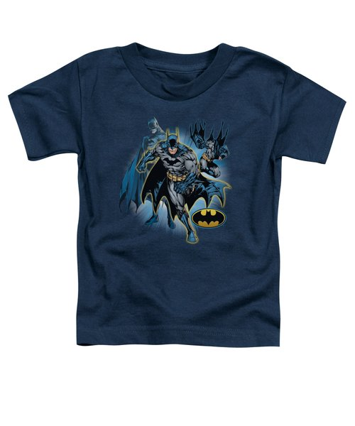 Jla - Batman Collage Toddler T-Shirt