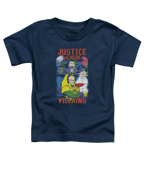 Jla - Justice For America Toddler T-Shirt