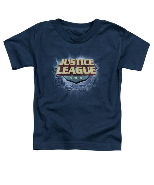 Jla - Storm Logo Toddler T-Shirt