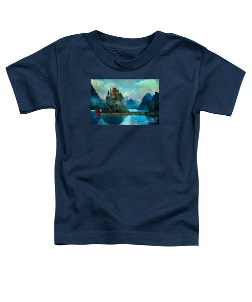 Toddler T-Shirt featuring the digital art Journeys End by Aimee Stewart