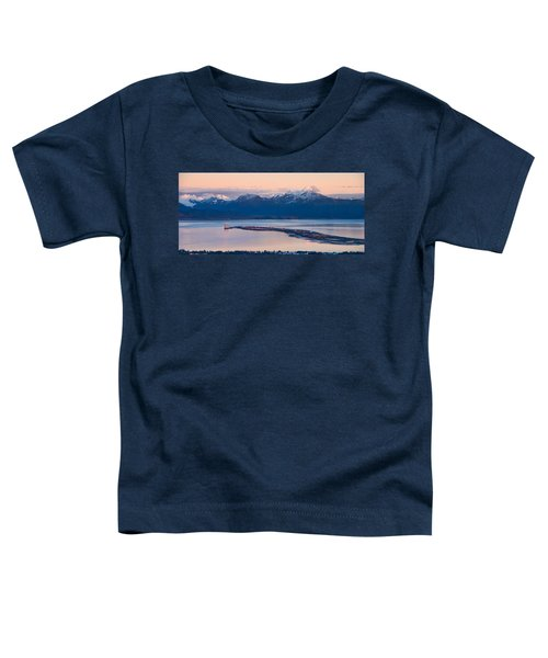 Kachemak Bay At Sunset Toddler T-Shirt