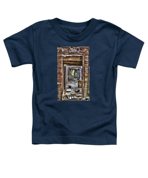 Keep Out By Diana Sainz Toddler T-Shirt