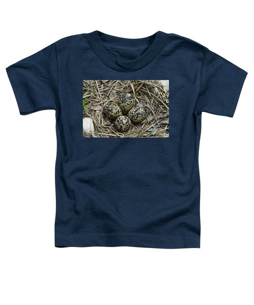 Killdeer Eggs In Nest Toddler T-Shirt