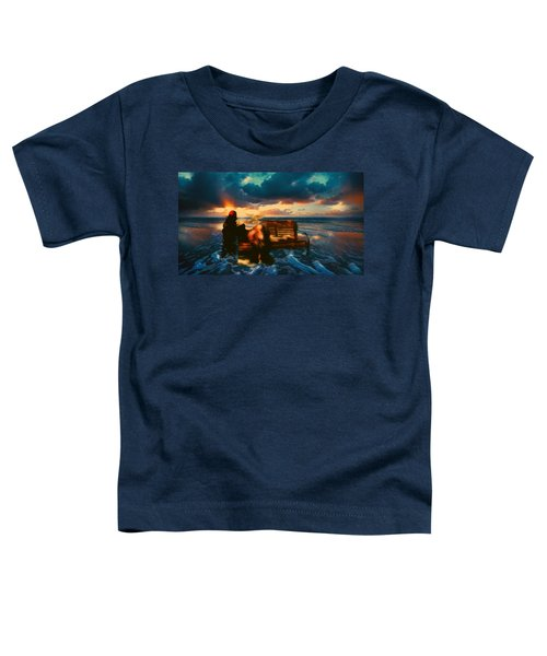 Lady Of The Ocean Toddler T-Shirt