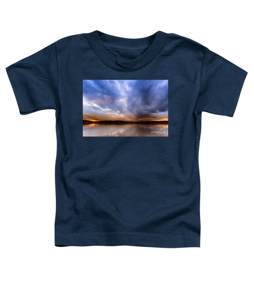 Lake Lanier Sunset Toddler T-Shirt