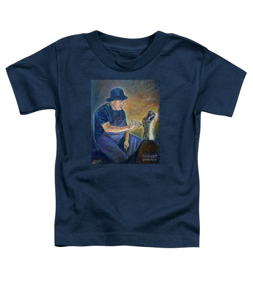 Figurative Painting Toddler T-Shirt