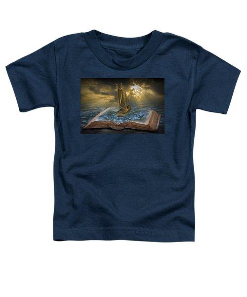 Let The Adventure Begin Toddler T-Shirt