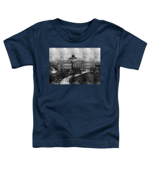 Library Of Congress Washington Dc 1902 Sketch Toddler T-Shirt