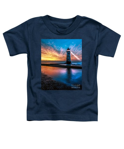 Light House Sunset Toddler T-Shirt