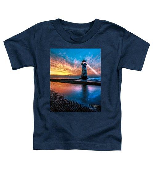 Light House Sunset Toddler T-Shirt