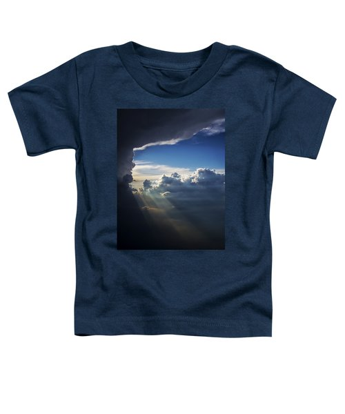 Light Shafts From Thunderstorm II Toddler T-Shirt