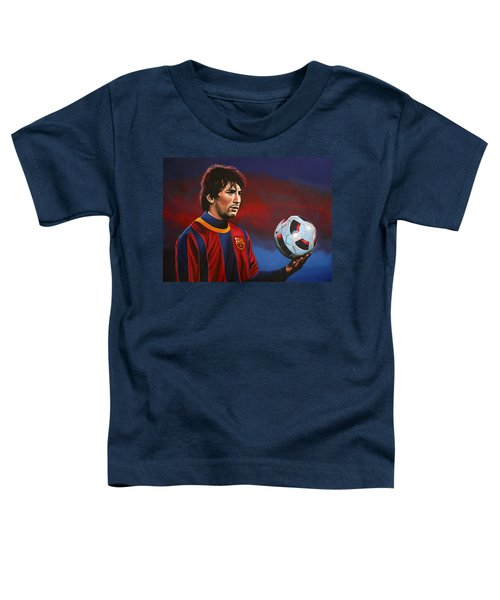 Lionel Messi 2 Toddler T-Shirt