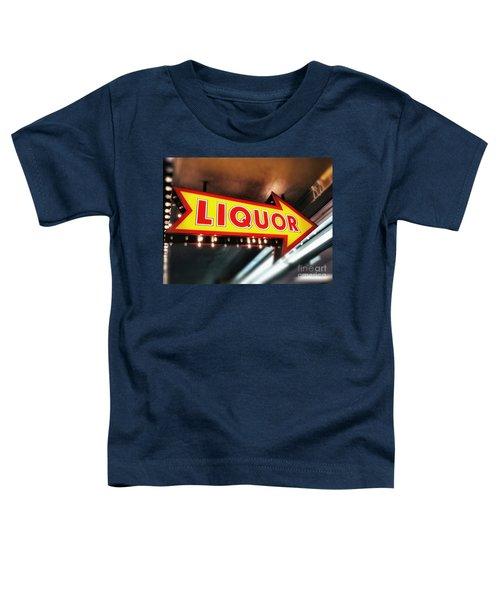 Liquor Store Sign Toddler T-Shirt