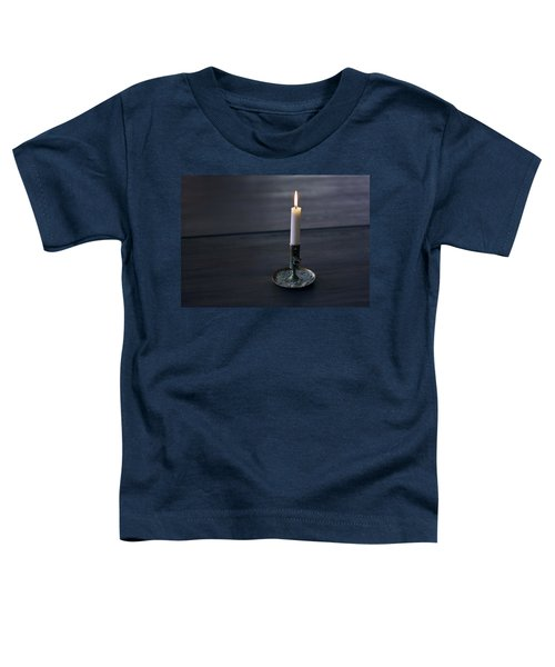 Lonely Candle Toddler T-Shirt