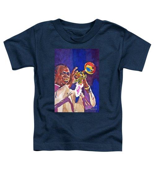 Louis Satchmo Armstrong Toddler T-Shirt
