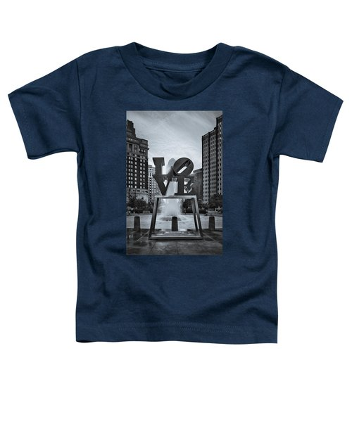 Love Park Bw Toddler T-Shirt